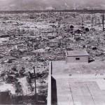 Hiroszima - zniszczenia po ataku